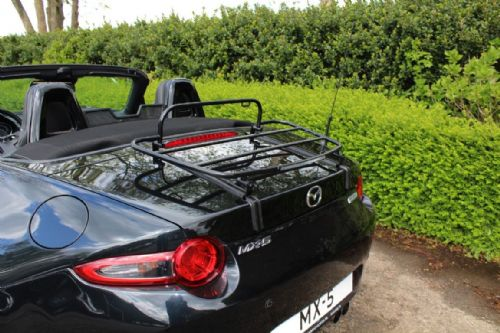 Boot luggage rack, black, Mazda MX-5 mk4 (ND series) 2014 on